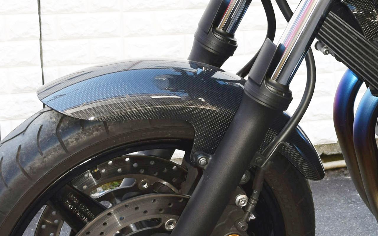 bless rs carbon front fender