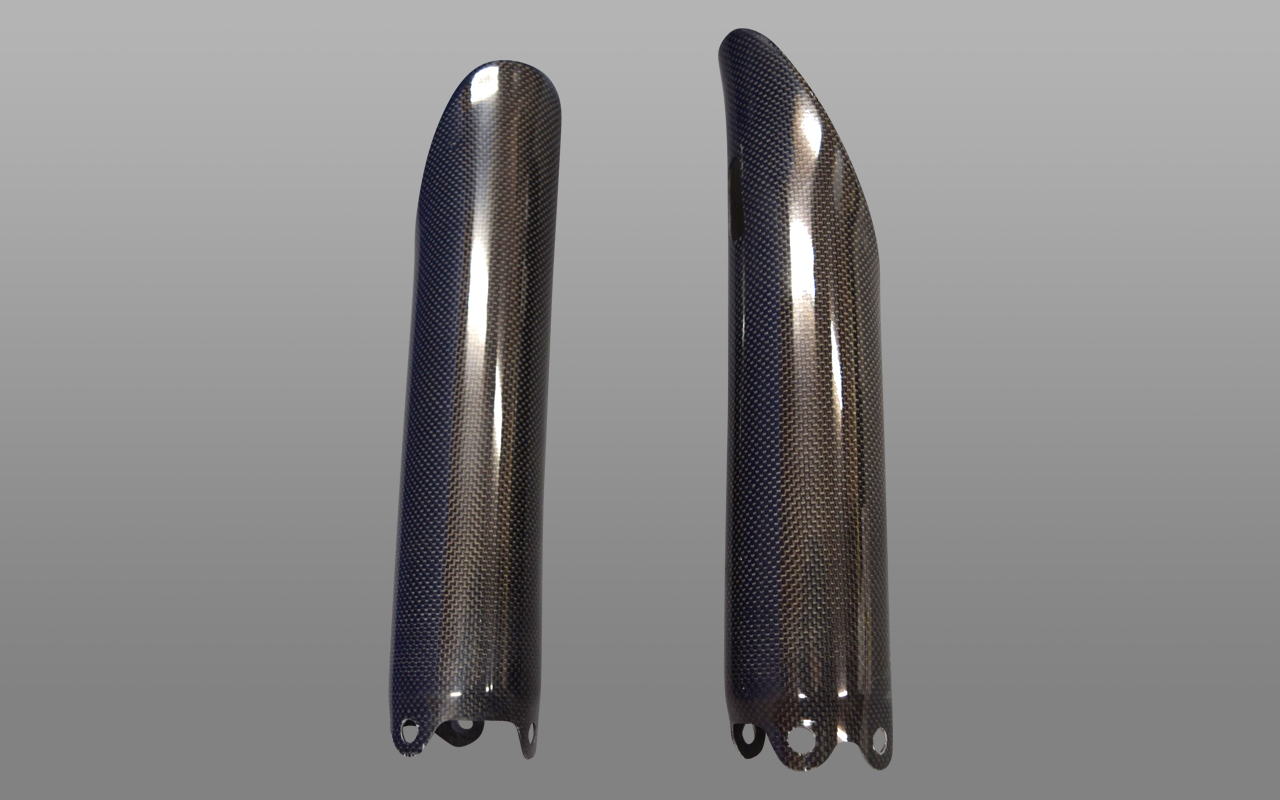 BLESS R's CARBON FRONT FORK GUARDCOVER